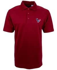 Cutter And Buck Men's Short Sleeve Houston Texans Polo Red