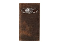 Ariat Star Concho Distressed Rodeo Wallet Distressed Brown Wallet Handbags