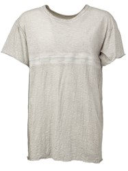 Isaac Sellam Experience Round Neck T Shirt Grey