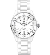 Tag Heuer Way1391.Bh0717 Aquaracer Ceramic Watch White