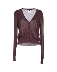 Gucci Knitwear Cardigans Women Dark Purple