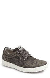Ecco Men's 'Casual Hybrid' Golf Shoe Black Leather