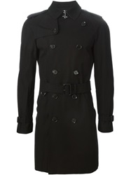 Burberry Prorsum Classic Trench Coat Black