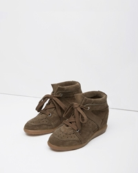 Isabel Marant Bobby Low Top Sneaker Brown