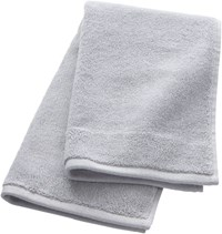 Cb2 Smith Silver Grey Hand Towel
