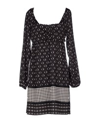 Nellandme Dresses Short Dresses Women Black