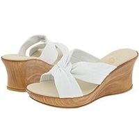 Onex Puffy White Women's Wedge Shoes