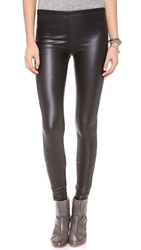 Plush Liquid Leggings Black