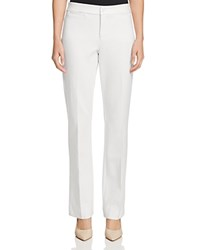 Nydj Michelle Trouser Flare Pants Winter White