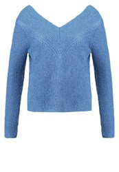 Kookai Jumper Ardoise Dark Blue