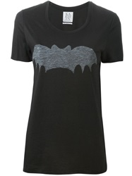 Zoe Karssen 'Bat' T Shirt Black