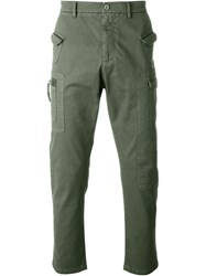 No21 Cargo Trousers Green