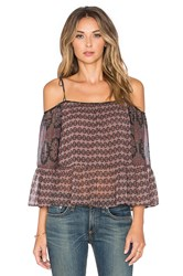 Twelfth St. By Cynthia Vincent Embroidered Trouse Top