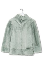 Shearling Chubby Jacket By Boutique Pistachio