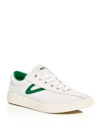 Tretorn Nylite Plus Lace Up Sneakers Ivory