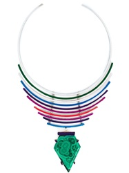 Gemma Redux Malachite Pendant Necklace Green