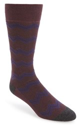 Men's Calibrate Zigzag Socks