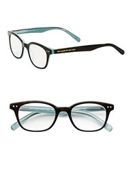 Kate Spade 49Mm Rebecca Reading Glasses Aqua Black