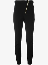 Sonia Rykiel Zip Detail Skinny Trousers Black