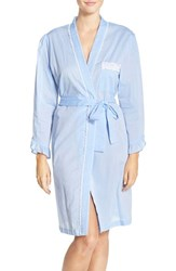 Eileen West Women's Chambray Cotton Robe