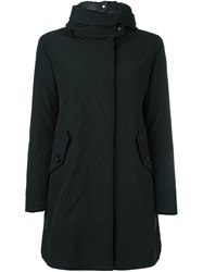 Woolrich Padded Mid Length Coat Black