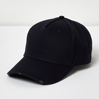 River Island Mens Navy Baseball Cap