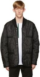Public School Black Quilted Raebur Jacket