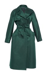 Martin Grant Evening Trench Green