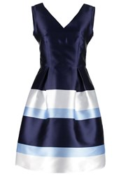 Dorothy Perkins Cocktail Dress Party Dress Navy Blue Multicoloured