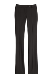 Roberto Cavalli Fleece Wool Trousers Black