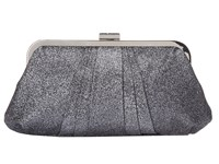 Nina Luvvy Pewter Clutch Handbags