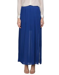 Pinko Tag Skirts Long Skirts Women Bright Blue