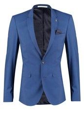 Burton Menswear London Pacific Suit Jacket Blue