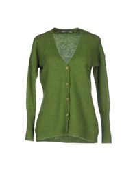 Private Lives Knitwear Cardigans Women Green