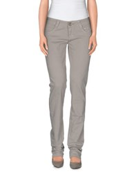 9.2 By Carlo Chionna Trousers Casual Trousers Women Light Grey