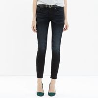 Madewell Skinny Skinny Crop Jeans In Tempest Wash