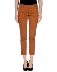 Gold Case Sogno Casual Pants Brown