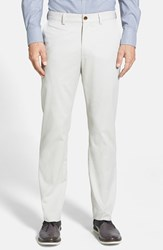 Men's Big And Tall Nordstrom Wrinkle Free Straight Leg Chinos Hummus