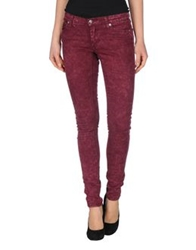 Cheap Monday Casual Pants Garnet