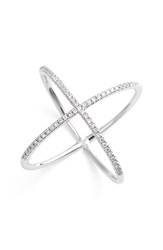 Bony Levy Crossover Diamond Ring Nordstrom Exclusive White Gold