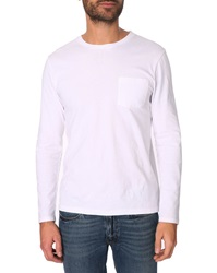 Menlook Label Luc White T Shirt