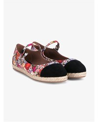 Tabitha Simmons Neely Espadrille Mary Janes Multicoloured