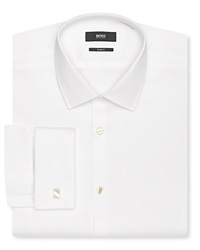 Boss Hugo Boss Jameson Tux Dress Shirt Slim Fit Open White