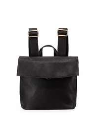 Neiman Marcus Misto Fold Over Backpack Black