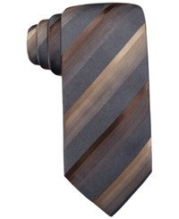 John Ashford Scott Stripe Tie Only At Macy's Taupe