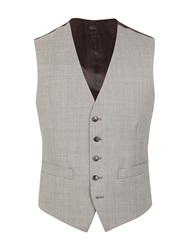 Pierre Cardin Pick And Pick Regular Fit Waistcoat Light Grey