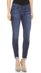 7 For All Mankind The Skinny Jeans Nouveau New York Dark