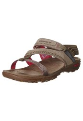 Merrell Mimosa Mace Sandals Kangaroo Light Brown