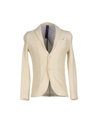 A Deep Suits And Jackets Blazers Men Ivory