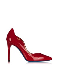 Loriblu Red Patent Leather Pointed Pump
